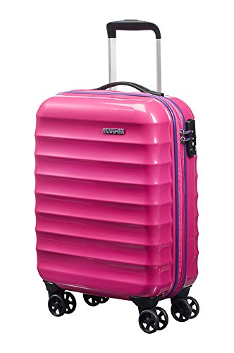 American Tourister Hand Luggage, 32 Liters, Pink Sparkle ...
