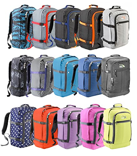 Cabin max backpack flight approved carry on bag massive 44 for Cabin bag backpack