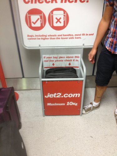 Cabin Max Berlin Jet2 approved hand luggage