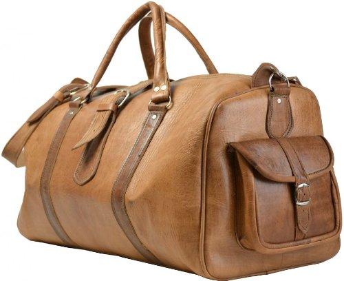 Gusti Leder Nature Robin Genuine Leather Travel Bag