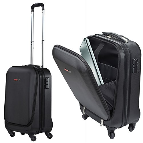 Swisscase pro business traveller 20 abs 4 wheel cabin for Laptop cabin bag