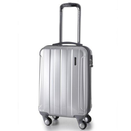 Aerolite 21 suitcase silver