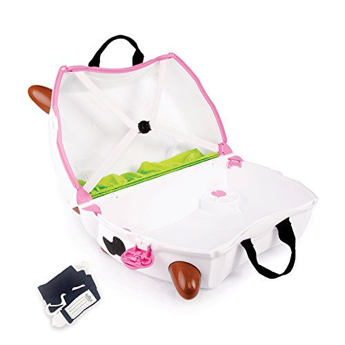 Frieda the Cow Trunki ride on suitcase