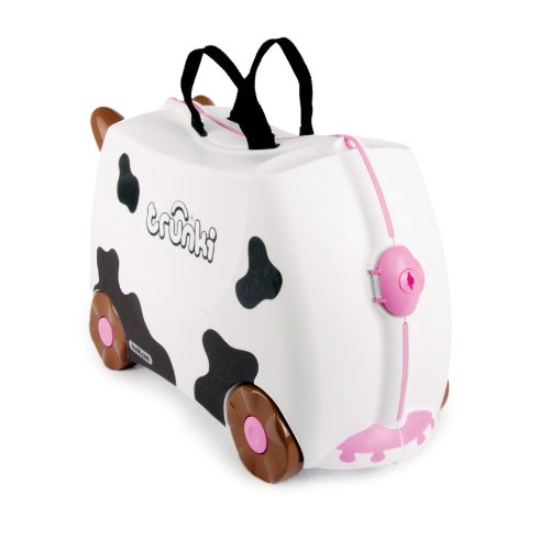 Trunki Frieda the cow black and white